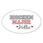 Biochem Major Hottie Oval Sticker (10 pk)