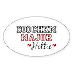 Biochem Major Hottie Oval Sticker (50 pk)