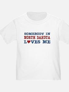 Somebody in North Dakota Loves Me T