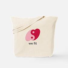 We Fit Tote Bag