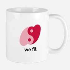 We Fit Small Small Mug