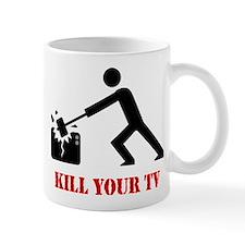 Kill Your Television Small Mug