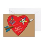 The OES Star and the Mason Cards (Pk of 10)