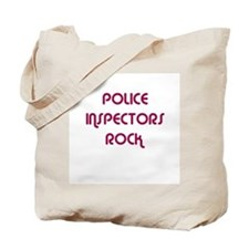 POLICE INSPECTORS  ROCK Tote Bag
