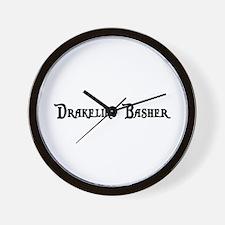 Drakeling Basher Wall Clock