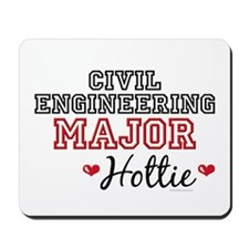 Civil Engineering Major Hottie Mousepad