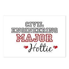 Civil Engineering Major Hottie Postcards (Package