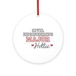 Civil Engineering Major Hottie Ornament (Round)