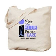 I Wear Light Blue Because I Care 9 Tote Bag
