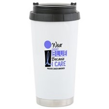 I Wear Light Blue Because I Care 9 Travel Mug
