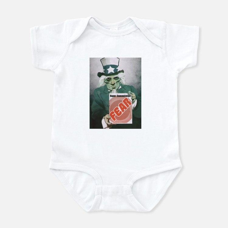 Fear Uncle Sam! Infant Bodysuit