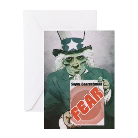 Fear Uncle Sam! Greeting Card