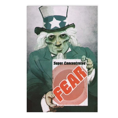 Fear Uncle Sam! Postcards (Package of 8)