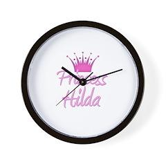 Princess Hilda Wall Clock