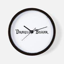 Drakeling Beggar Wall Clock
