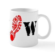 I Shoe W. Mug