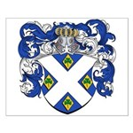 Van Der Speck Coat of Arms Small Poster