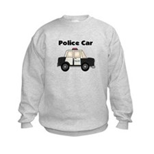 Police Car Sweatshirt