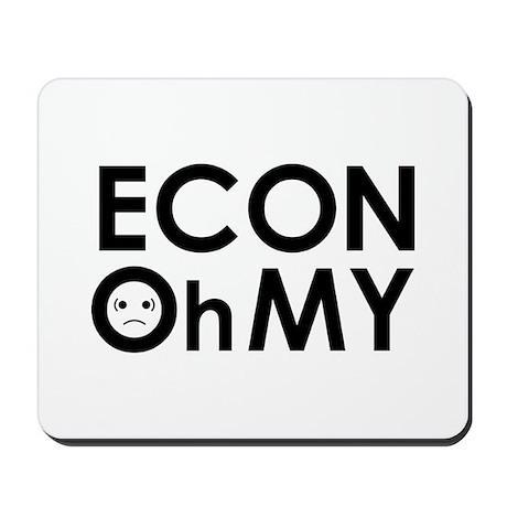 """""""ECONOhMY"""" Mousepad"""