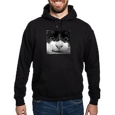 Black and White Cat Hoodie