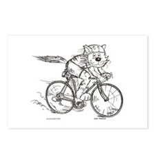 Bicycle Cat Postcards (Package of 8)