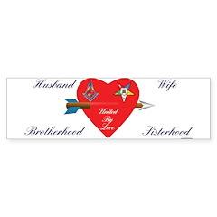 Showing Love Bumper Sticker