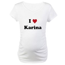 I love Karina Shirt
