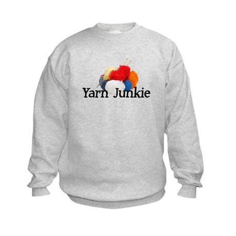 Yarn Junkie Kids Sweatshirt