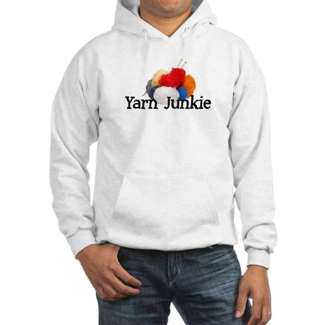 Yarn Junkie Hooded Sweatshirt