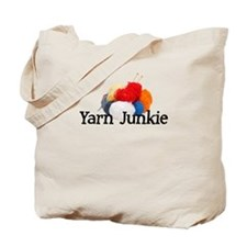 Yarn Junkie Tote Bag