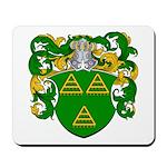 Van De Water Coat of Arms Mousepad