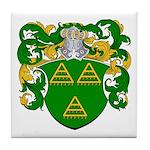 Van De Water Coat of Arms Tile Coaster