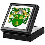 Van De Water Coat of Arms Keepsake Box