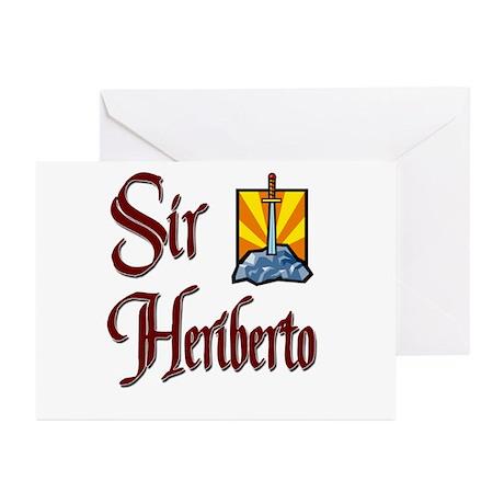 Sir Heriberto Greeting Cards (Pk of 10)