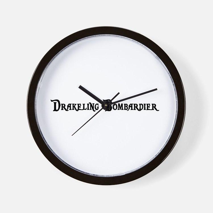 Drakeling Bombardier Wall Clock