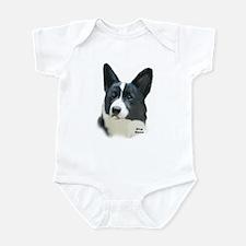 corgi portrait Infant Bodysuit