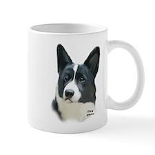 corgi portrait Mug