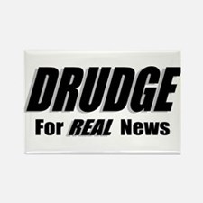 REAL News Rectangle Magnet (100 pack)