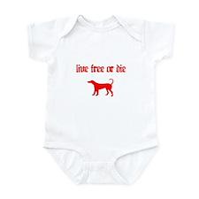 Live Free Infant Bodysuit