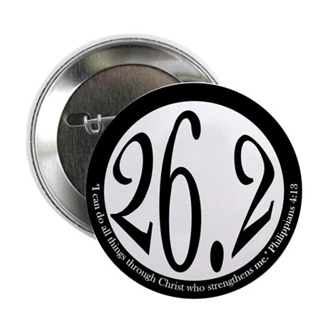"26.2 - Philippians 2.25"" Button (100 pack)"