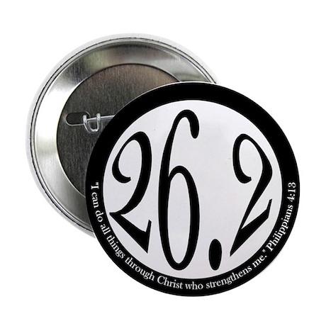 """26.2 - Philippians 2.25"""" Button (100 pack)"""