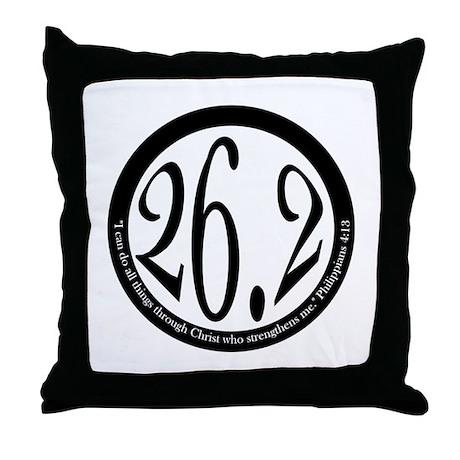 26.2 - Philippians Throw Pillow