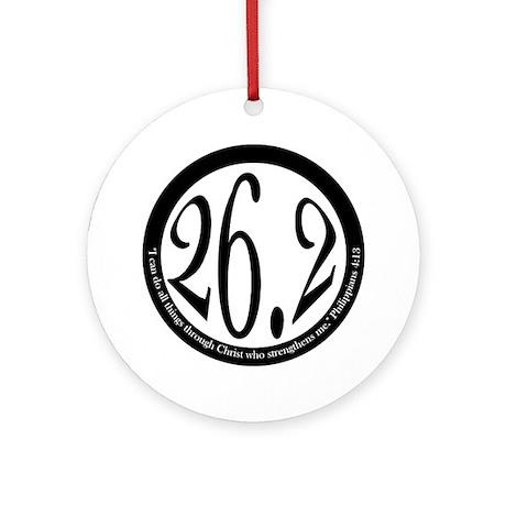 26.2 - Philippians Ornament (Round)