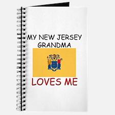 My New Jersey Grandma Loves Me Journal