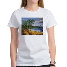 Funny Oil painting Tee