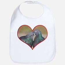 Pigeon Romance Bib