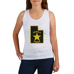Genola Police Women's Tank Top