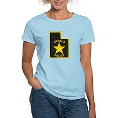 Genola Police Women's Light T-Shirt