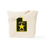 Genola Police Tote Bag