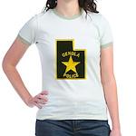 Genola Police Jr. Ringer T-Shirt